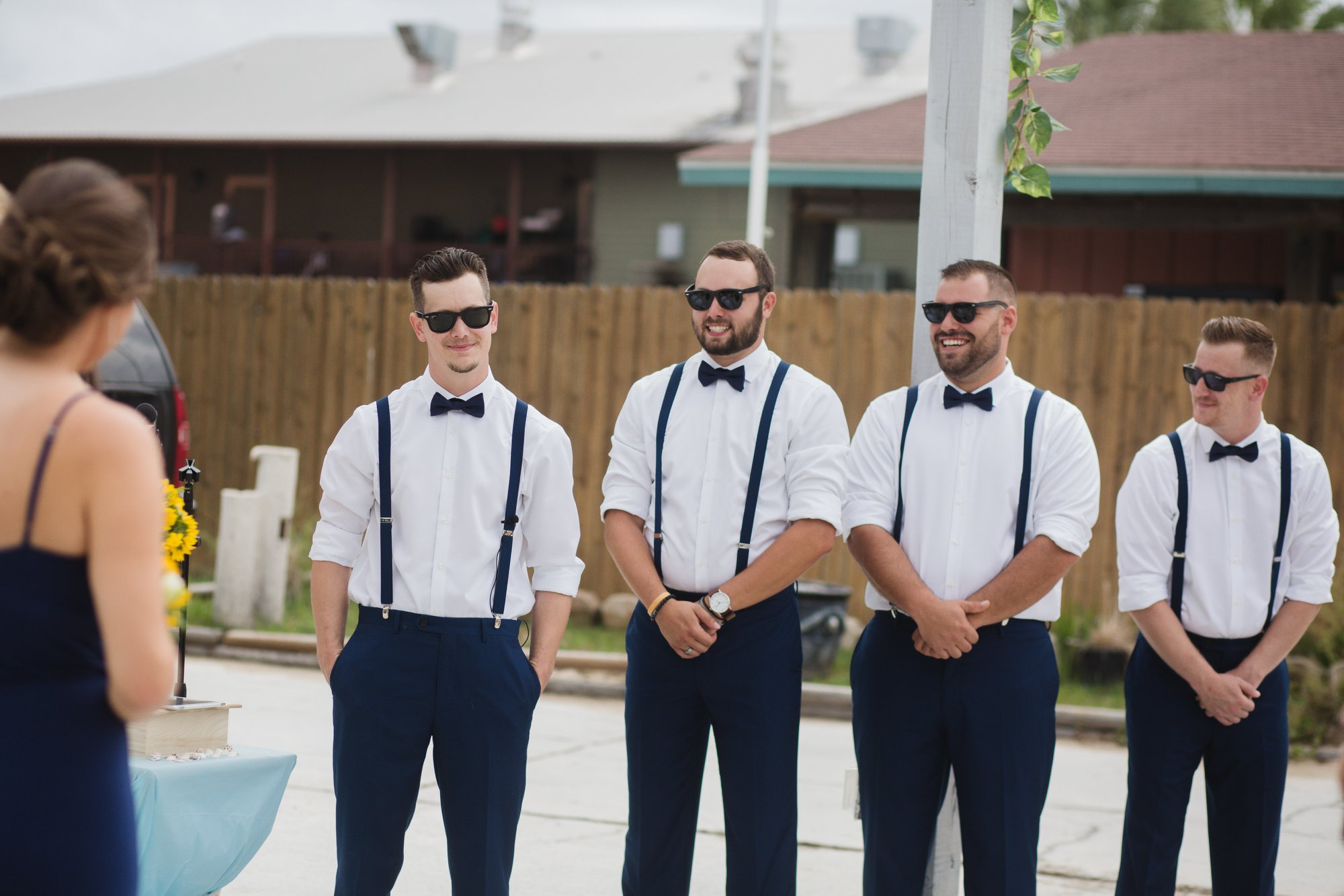 Brownell Beach Wedding Gulf Shores Groomsmen